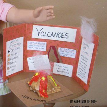 Doll-Sized Volcano Presentation
