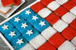 Flag Cookie Tray