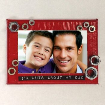 """I'm Nuts About You"" Photo Frame"