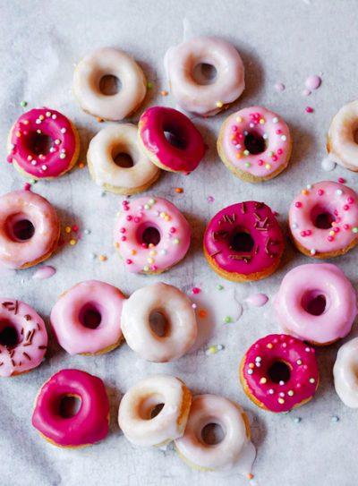 Glazed Mini Doughnuts