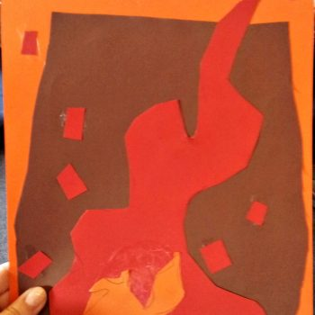 Matisse-Style Cutout Art