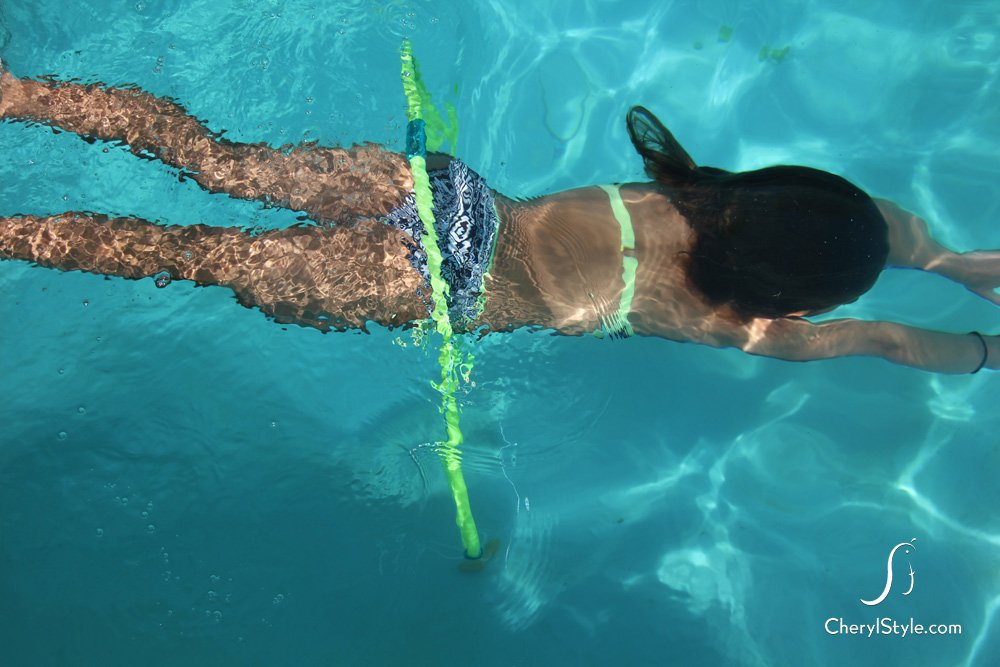 Underwater Hula Hoop Obstacle Course Fun Family Crafts