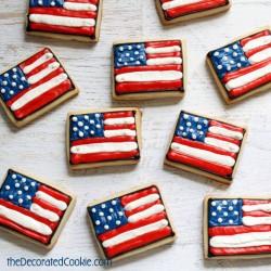 American Flag Cookies