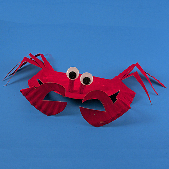 Paper Plate Sea Crab