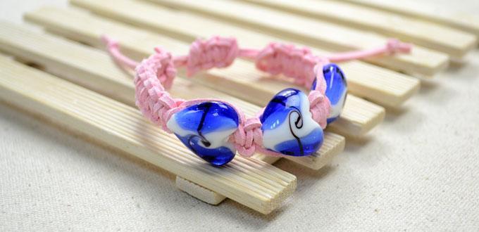 Beaded Suede Cord Bracelet