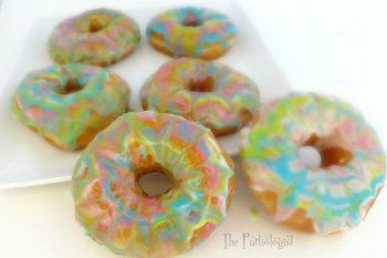 Tie Dye Donuts