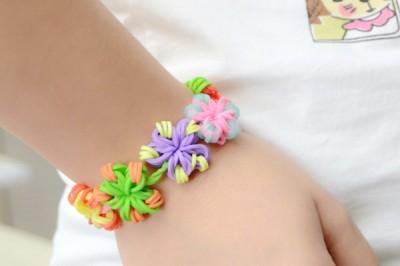 Loom Flower Bracelet