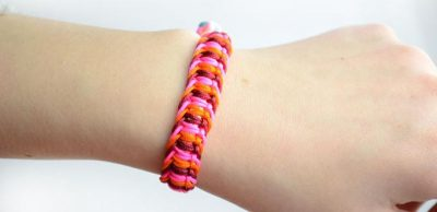 Flat Macrame Friendship Bracelet