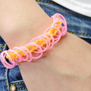 Easy Rubber Band Bracelet