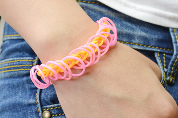 Easy Rubber Band Bracelet Fun Family Crafts