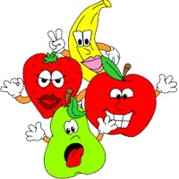 Printable Fruit Faces