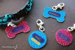 Shrinky Dink Dog Tags