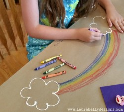 Interactive Rainbow Table Cover