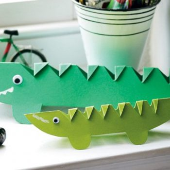 Crocodile Paper Craft