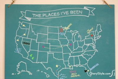 Map Chalkbaord