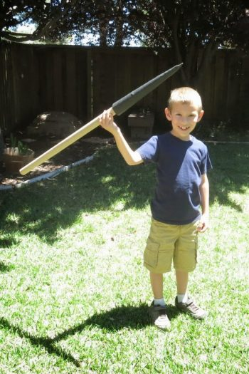 Kid-Friendly Javelin
