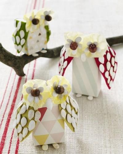 Juice Box Owl