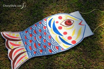No-Sew Fish Windsock