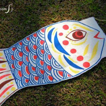 No-Sew Fish Windsock