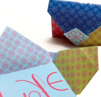 Origami Secret Note