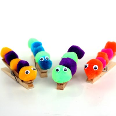 Caterpillar Craft Fun Family Crafts