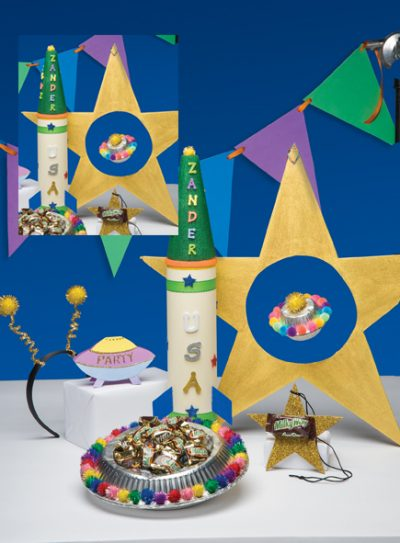 Spaceship Party Toss Game