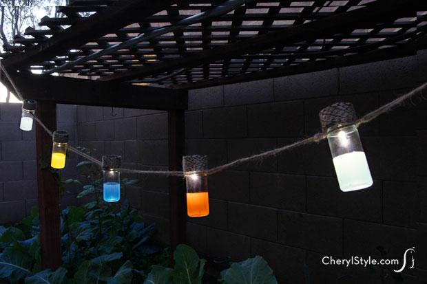 Spice Jar Solar Lanterns