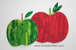 Tissue Paper Apples
