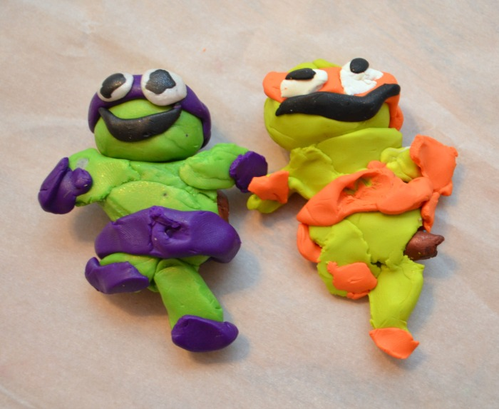 Clay Ninja Turtle Fun Family Crafts