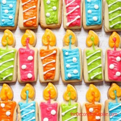 Birthday Candle Cookies
