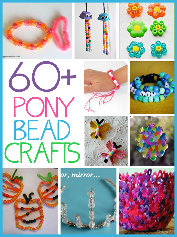 60 Pony Bead Crafts Fun Family Crafts