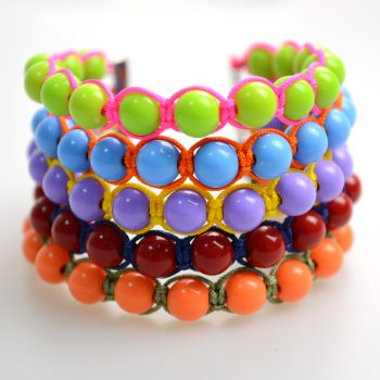 Colorful Bead Bangle