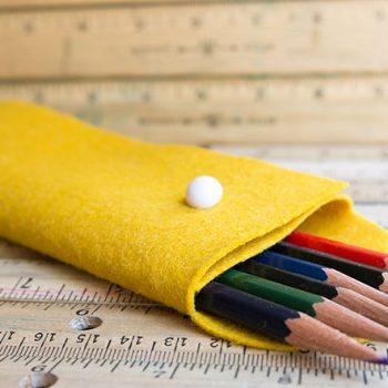 Felt Pencil Case