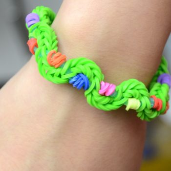 Twisty Rubber Band Bracelet