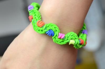 Twisty Rubber Band Bracelet Fun Family Crafts