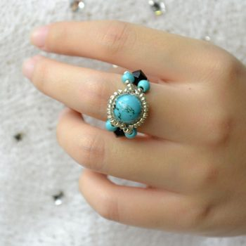 5-minute Beaded Ring