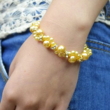 Pearl Wave Bracelet