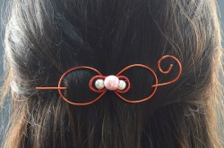 Wire Bow Hair Clip