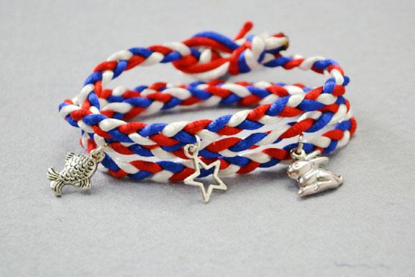 Wrapped Braid Bracelet