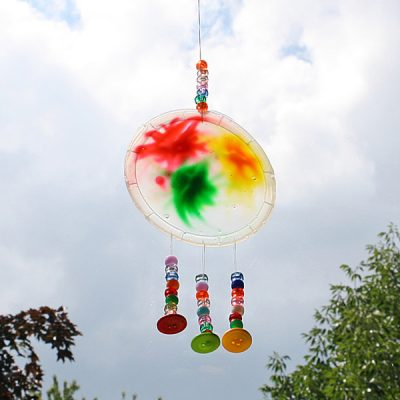 Colorful Glue Sun Catcher