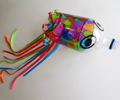 Koinobori-Inspired Wind Sock