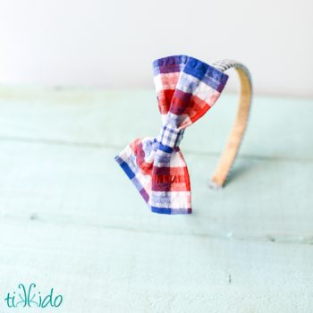 No Sew Bow Headband