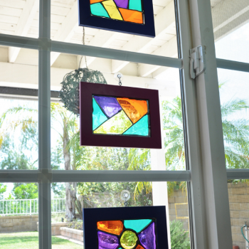 Glass-Stained Suncatchers