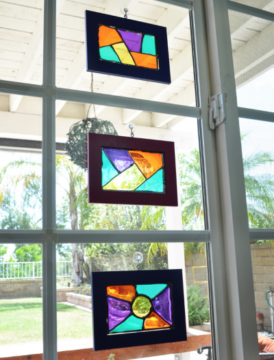 Glass-Stained Suncatchers