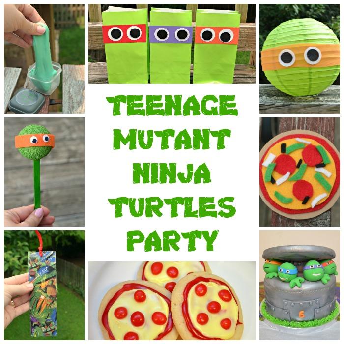 Teenage Mutant Ninja Turtles Party Fun Family Crafts