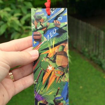 Teenage Mutant Ninja Turtle Bookmarks