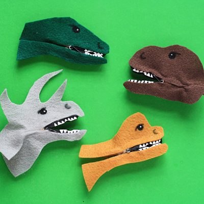 Clothespin Dinosaurs