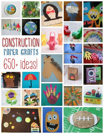 650+ Construction Paper Crafts