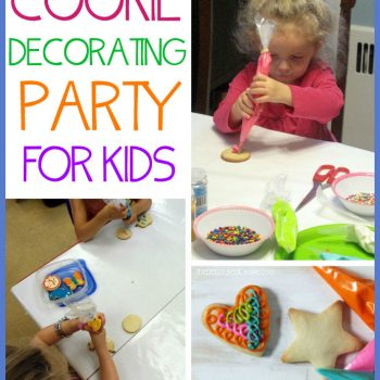 How to: Cookie Decorating Party for Kids