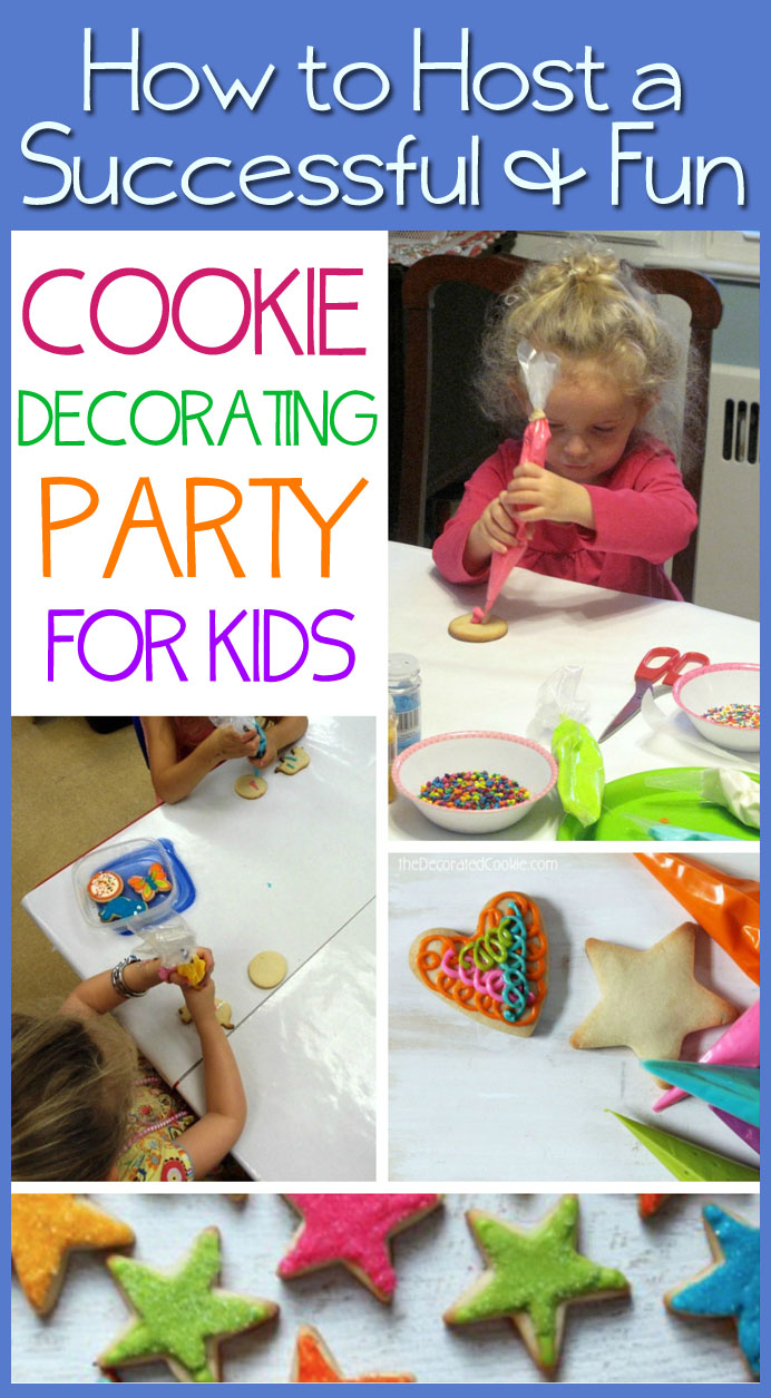 Cookie decorating party ideas - Cookie Decorating Party Ideas 25